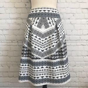 Hale Bob patterned skirt